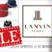 LANVIN(ランバン)セールおすすめアイテム♪